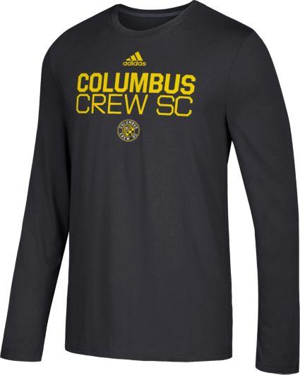 Adidas Mens Columbus Crew Logo Performance Black Long -6490