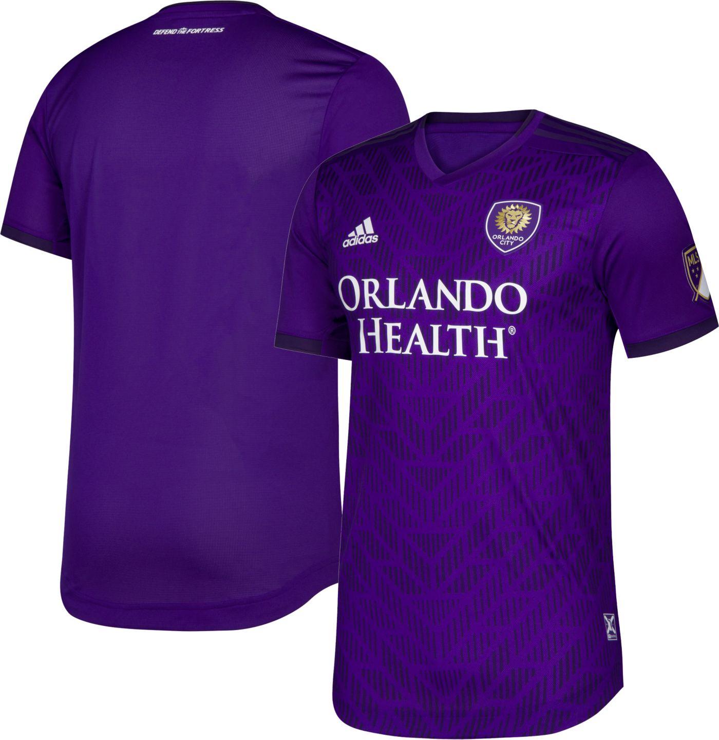 adidas Men's Orlando City Primary Authentic Jersey