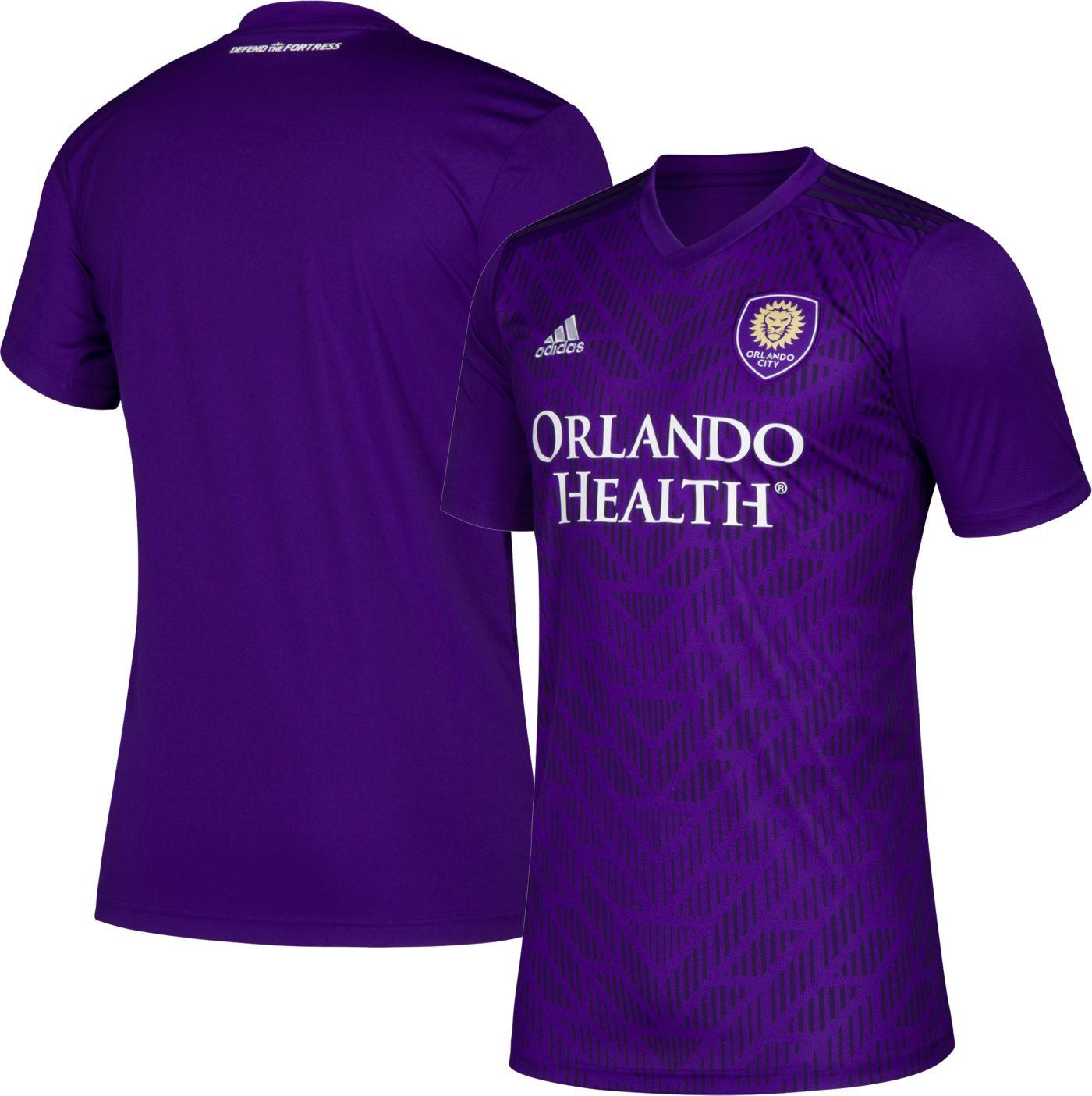adidas Men's Orlando City Primary Replica Jersey
