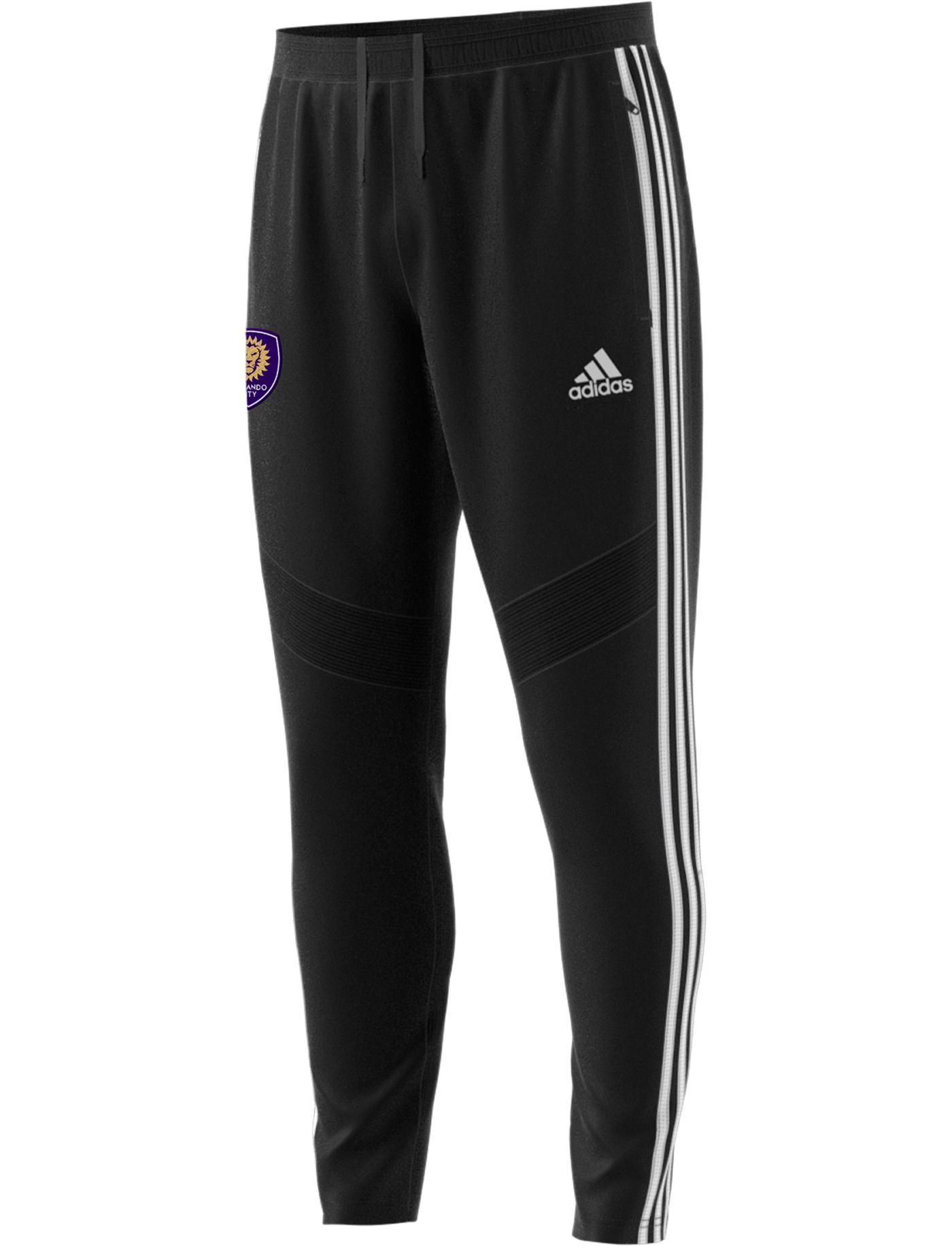 adidas Men's Orlando City Tiro Black Pants