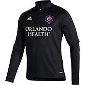 adidas Men's Orlando City Gray Training Quarter-Zip