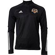 adidas Men's Houston Dynamo Black Training Quarter-Zip