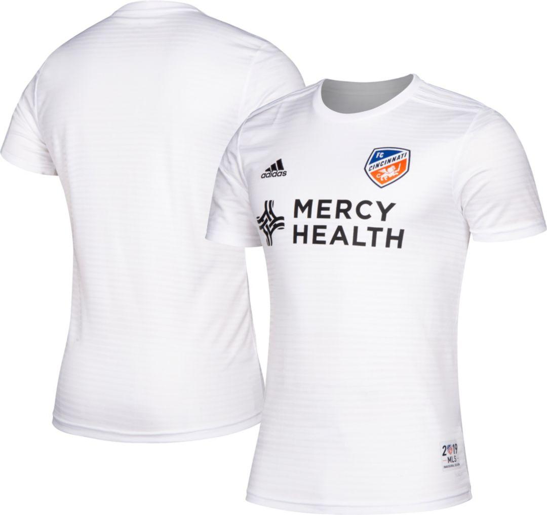 on sale 8e3e5 3595c adidas Men's FC Cincinnati Secondary Replica Jersey
