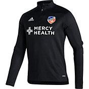 adidas Men's FC Cincinnati Black Training Quarter-Zip