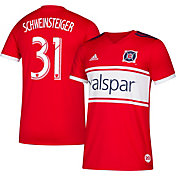 adidas Men's Chicago Fire Bastian Schweinsteiger #19 Primary Replica Jersey