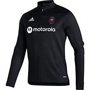 adidas Men's Chicago Fire Black Training Quarter-Zip