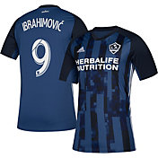 adidas Men's Los Angeles Galaxy Zlatan Ibrahimovic #9 Secondary Replica Jersey
