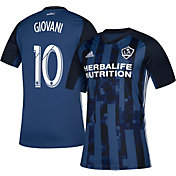adidas Men's Los Angeles Galaxy Giovani dos Santos #10 Secondary Replica Jersey