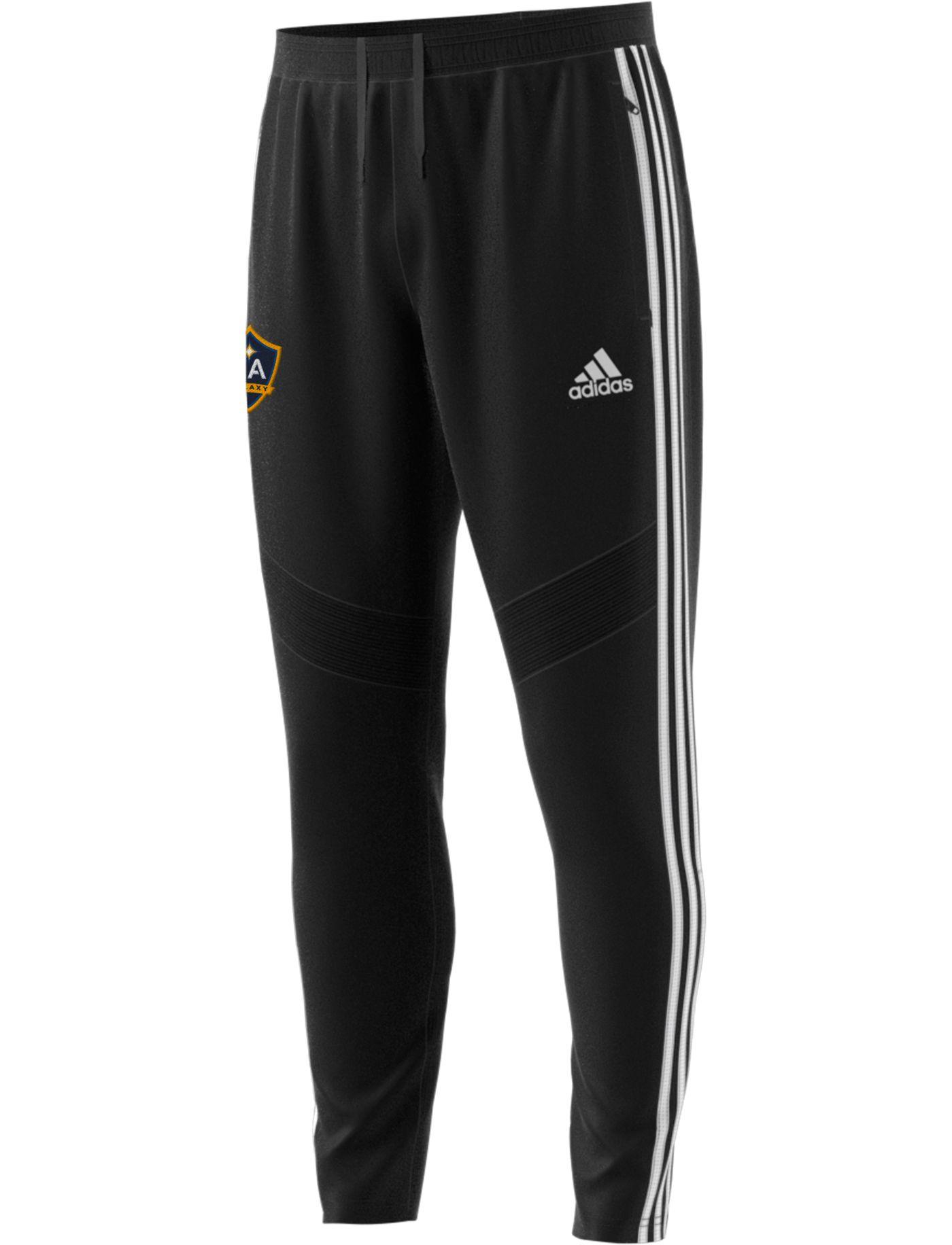 adidas Men's Los Angeles Galaxy Tiro Black Pants
