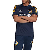 adidas Men's Los Angeles Galaxy Navy Training Jersey