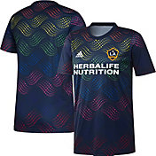 adidas Men's Los Angeles Galaxy Pride Prematch Jersey