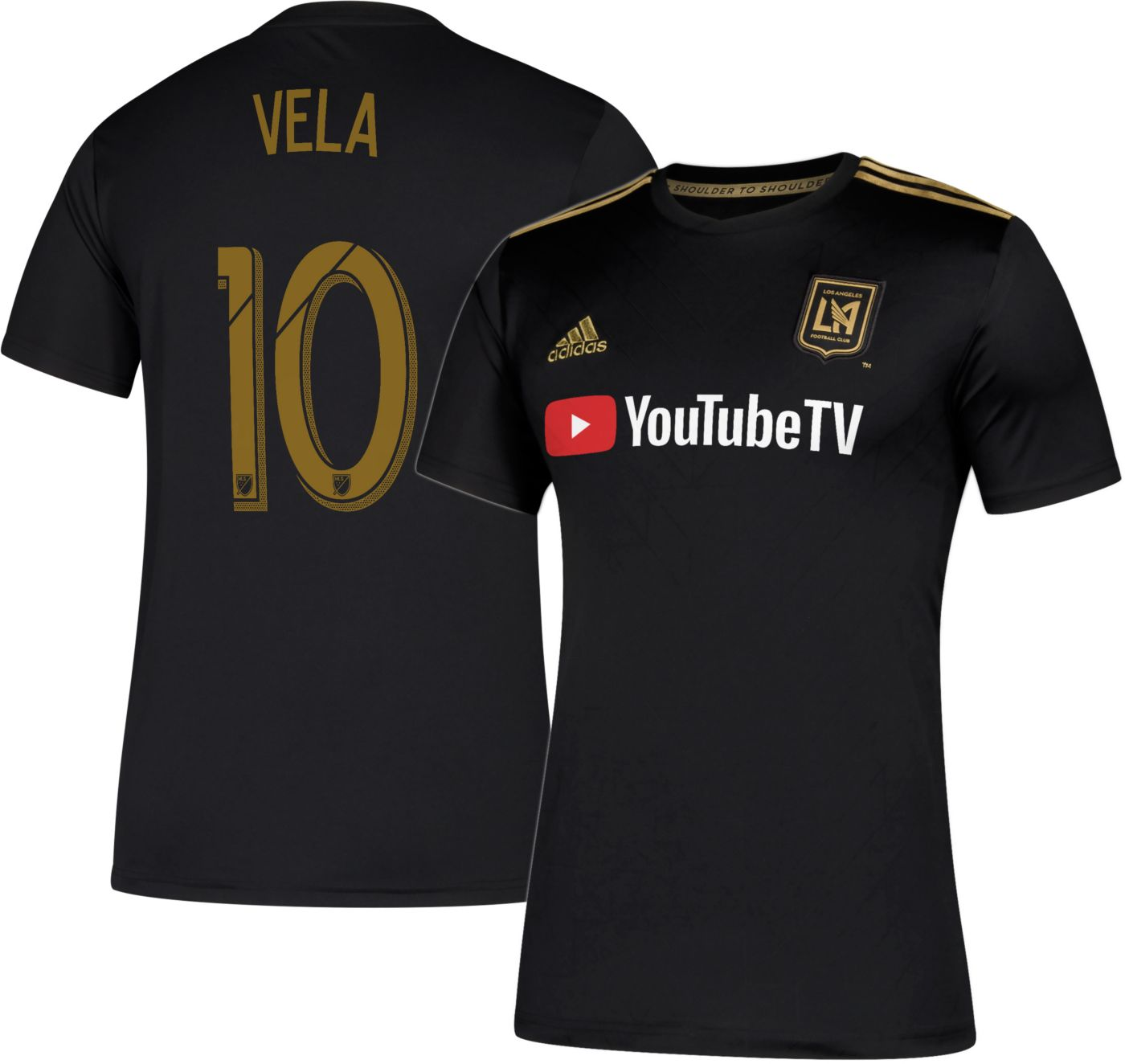 adidas Men's Los Angeles FC Carlos Vela #10 Primary Replica Jersey