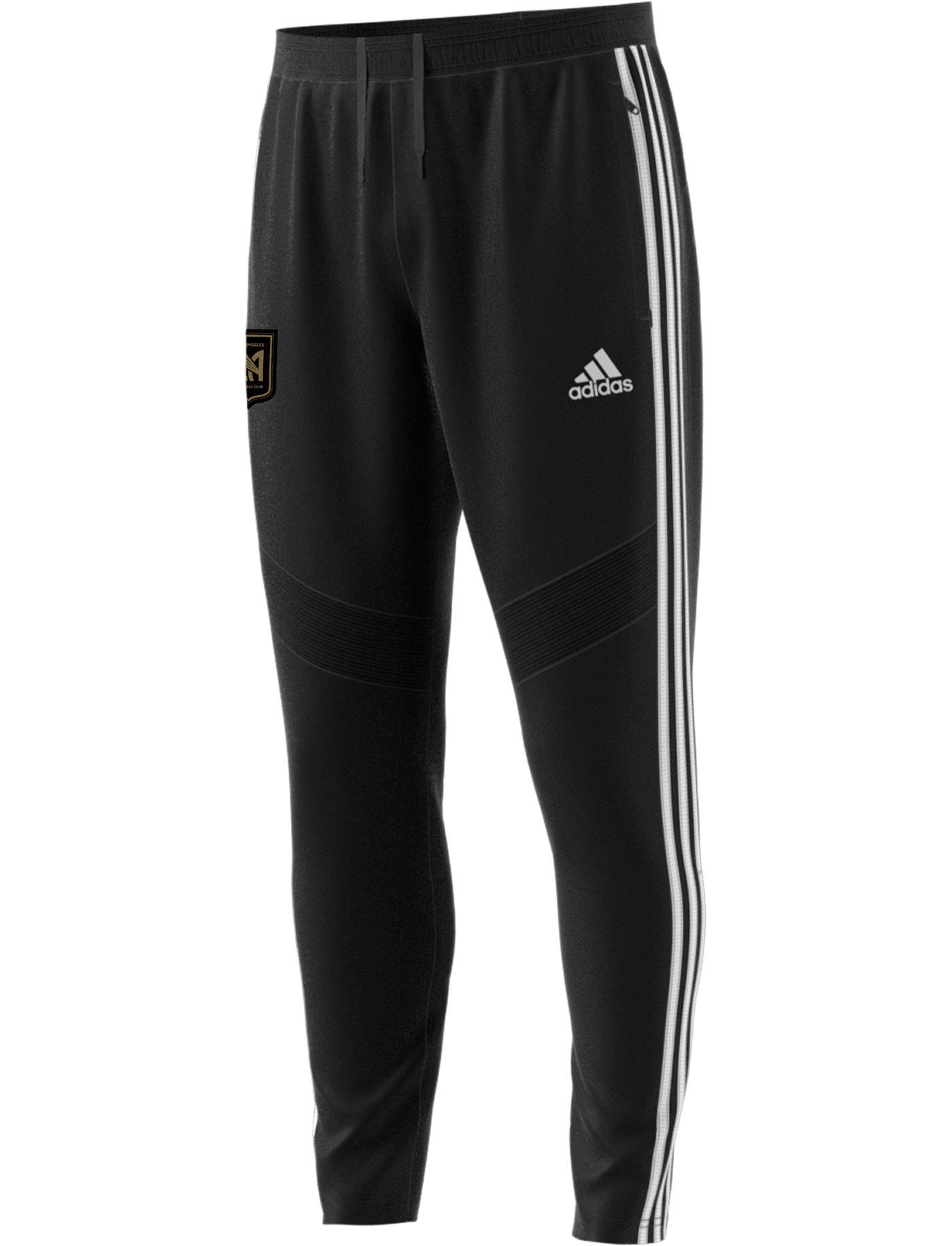 adidas Men's Los Angeles FC Tiro Black Pants