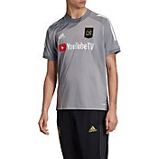 adidas Men's Los Angeles FC Gray Training Jersey