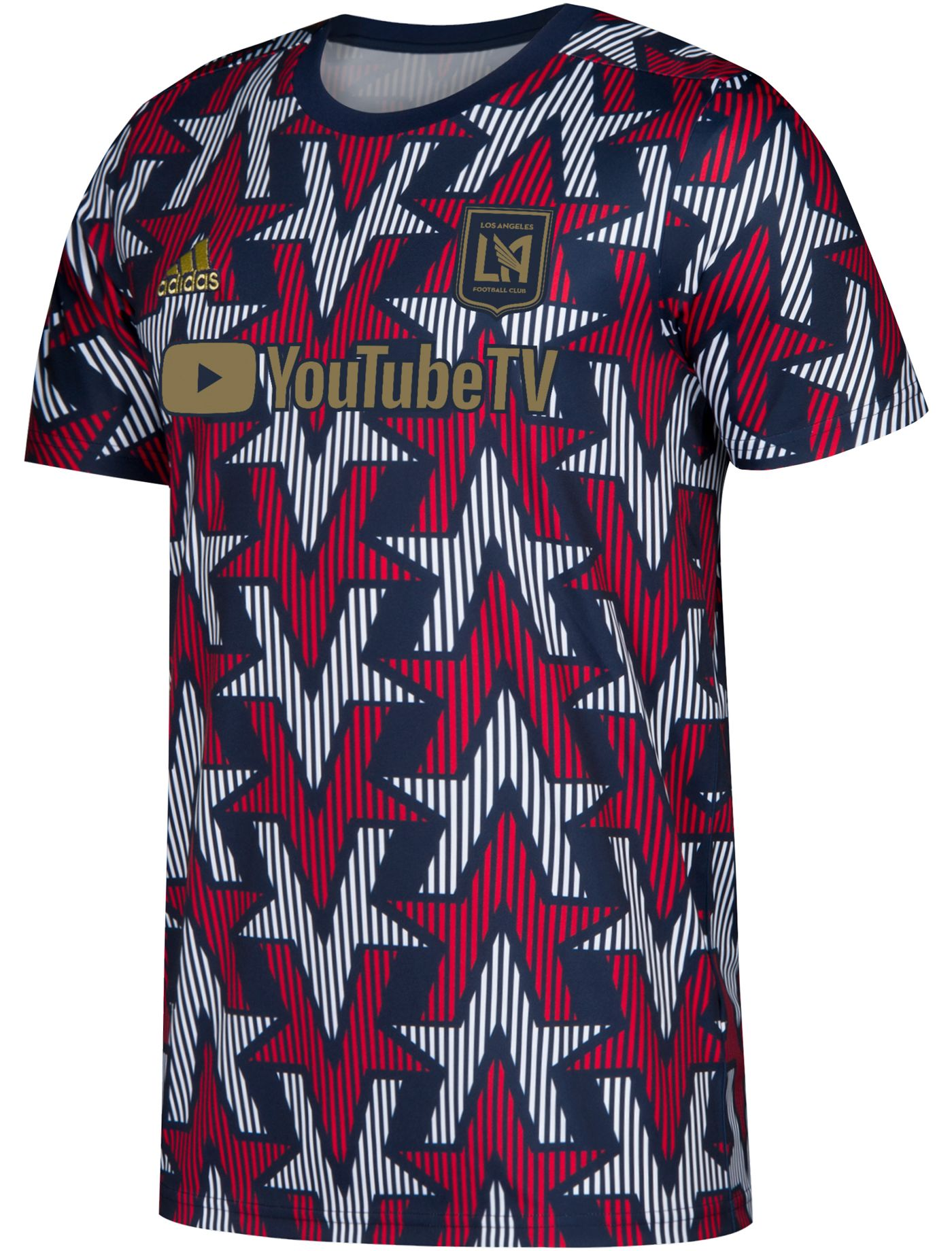 adidas Men's Los Angeles FC Americana Prematch Jersey