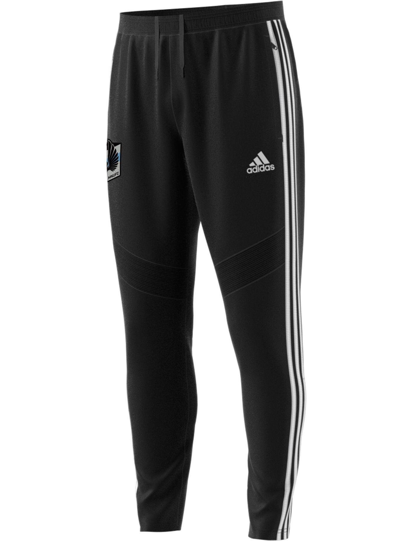 adidas Men's Minnesota United FC Tiro Black Pants