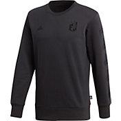 adidas Men's Minnesota United FC Tango Black Crew Sweatshirt