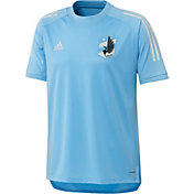 adidas Men's Minnesota United FC Blue Training Jersey