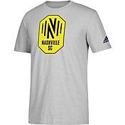 adidas Men's Nashville SC Squad Prime Grey T-Shirt
