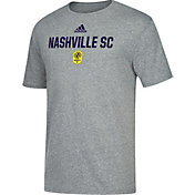 adidas Men's Nashville SC Locker Grey Tri-Blend T-Shirt
