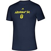 adidas Men's Nashville SC Wordmark Navy T-Shirt