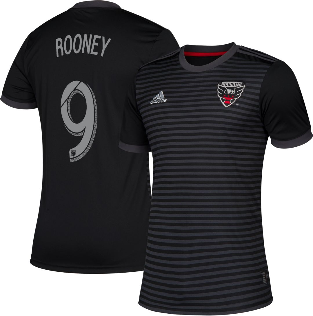 lowest price 0a6e4 8afef adidas Men's D.C. United Wayne Rooney #10 Primary Replica Jersey