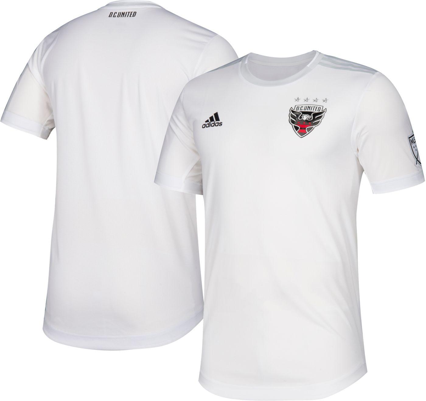 adidas Men's D.C. United Secondary Authentic Jersey