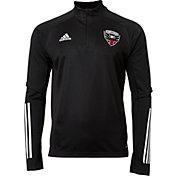 adidas Men's D.C. United Black Training Quarter-Zip