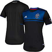 adidas Men's San Jose Earthquakes Primary Authentic Jersey