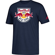 adidas Men's New York Red Bulls Big Logo Navy T-Shirt