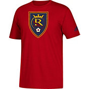 adidas Men's Real Salt Lake Big Logo Red T-Shirt