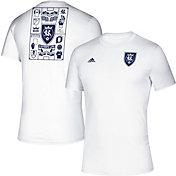 adidas Men's Real Salt Lake Iconic White T-Shirt