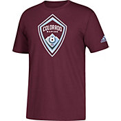 adidas Men's Colorado Rapids Big Logo Maroon T-Shirt