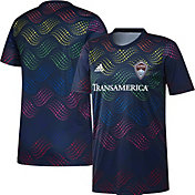 adidas Men's Colorado Rapids Pride Prematch Jersey