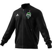 adidas Men's Seattle Sounders Anthem Green Full-Zip Jacket