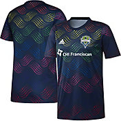 adidas Men's Seattle Sounders Pride Prematch Jersey