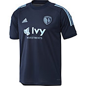 adidas Men's Sporting Kansas City Navy Training Jersey