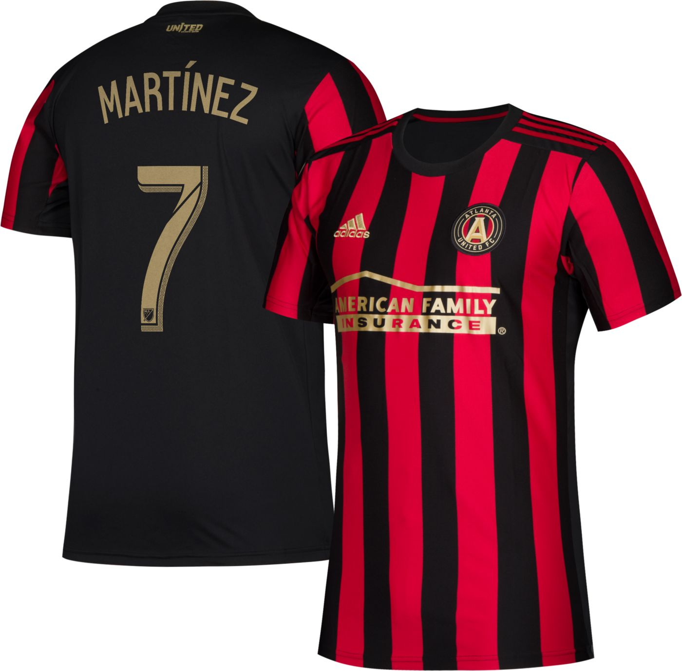 adidas Men's Atlanta United Josef Martinez #17 Primary Replica Jersey