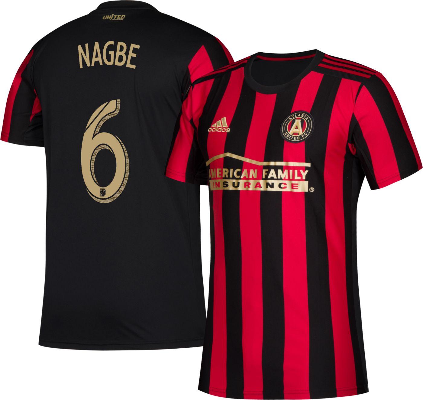 adidas Men's Atlanta United Darlington Nagbe #6 Primary Replica Jersey