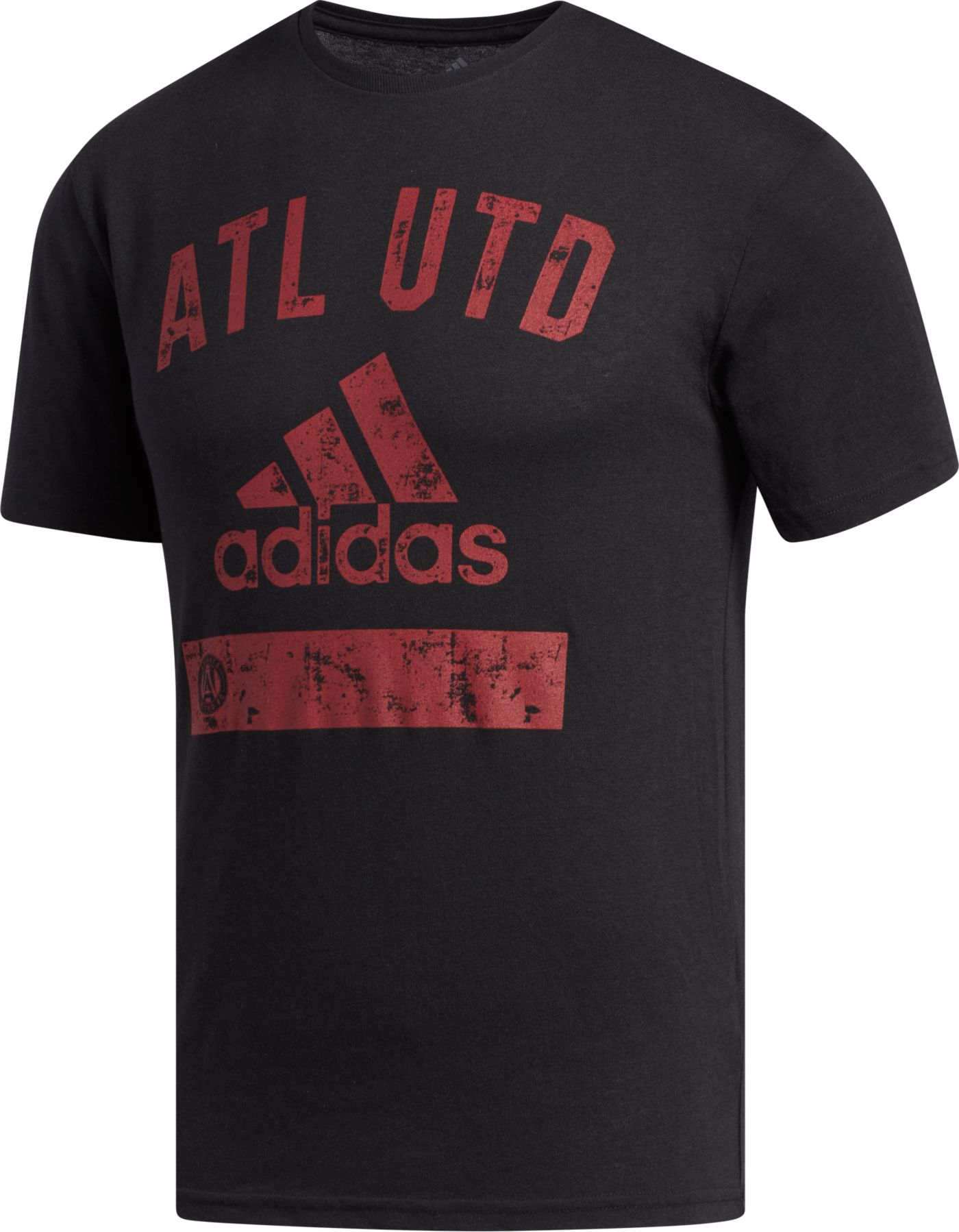 adidas Men's Atlanta United Black Tri-Blend T-Shirt