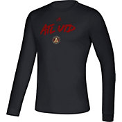 adidas Men's Atlanta United Wordmark Black Long Sleeve Shirt