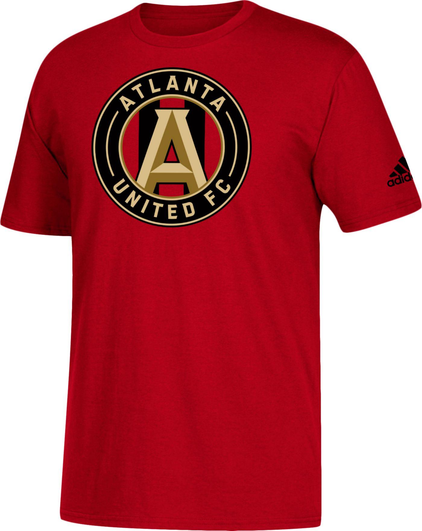 adidas Men's Atlanta United Big Logo Red T-Shirt