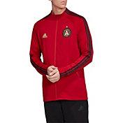 adidas Men's Atlanta United Anthem Red Full-Zip Jacket