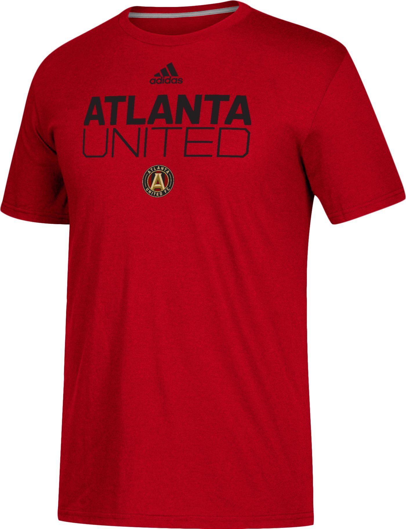 adidas Men's Atlanta United Logo Red Performance T-Shirt