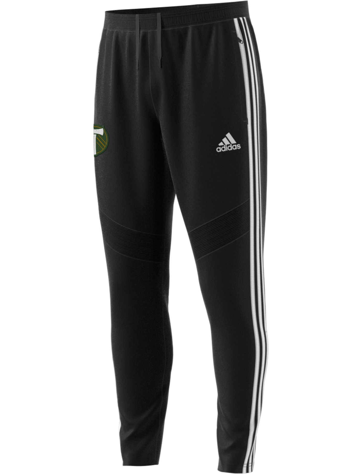 adidas Men's Portland Timbers Tiro Black Pants