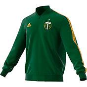 adidas Men's Portland Timbers Anthem Green Full-Zip Jacket
