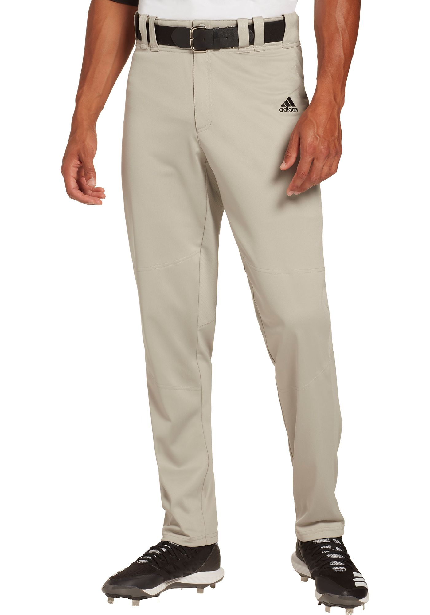 adidas Men's Elevated Tapered Open Bottom Baseball Pants