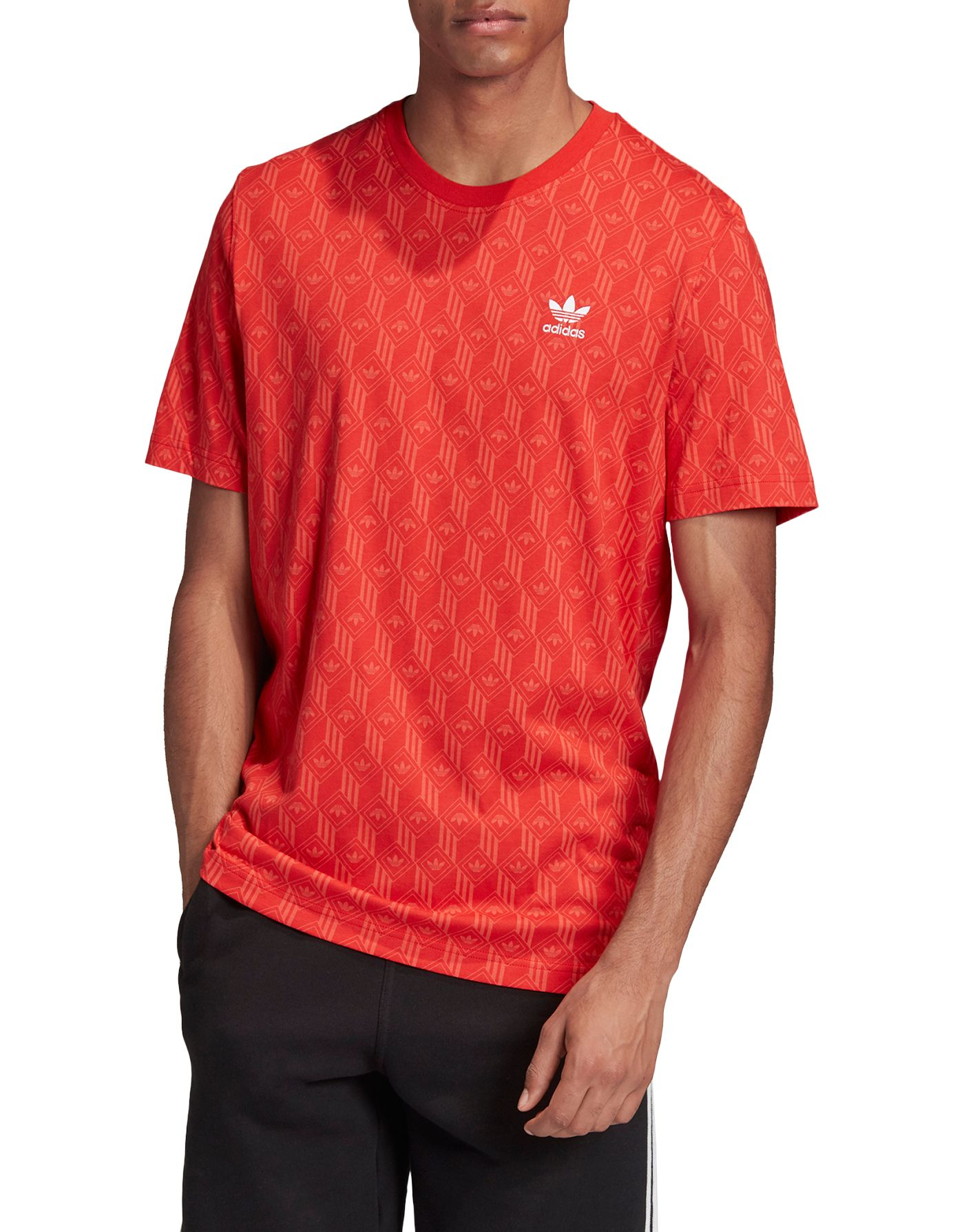 adidas Originals Men's Mono All Over Print T-Shirt