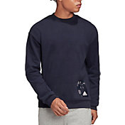 adidas Men's Tech Graphic Crewneck