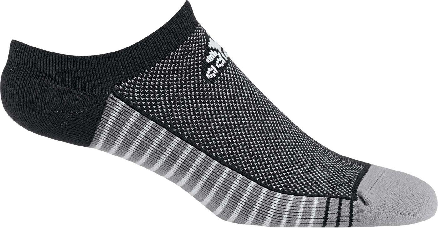 adidas Men's Single Performance No Show Golf Socks